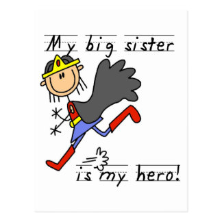 Hero Big Sister Tshirts and Gifts Postcard
