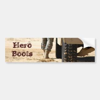 Hero Boots Bumper Sticker