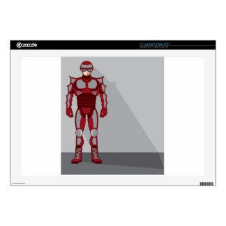 "Hero Castume 17"" Laptop Skin"