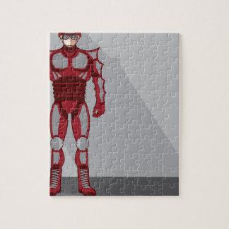 Hero Castume Jigsaw Puzzle