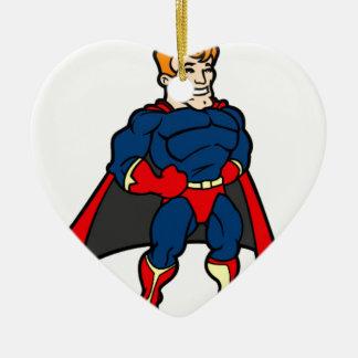 Hero Ceramic Ornament