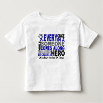 HERO COMES ALONG 1 Aunt COLON CANCER T-Shirts