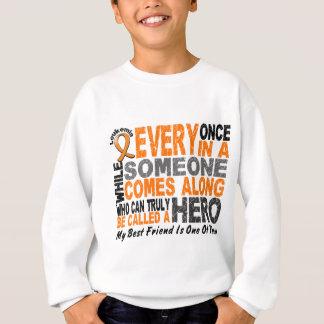 HERO COMES ALONG 1 Best Friend LEUKEMIA T-Shirts