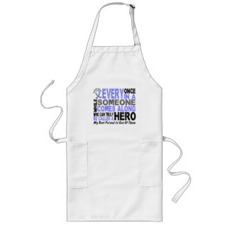 HERO COMES ALONG 1 Best Friend PROSTATE CANCER Long Apron