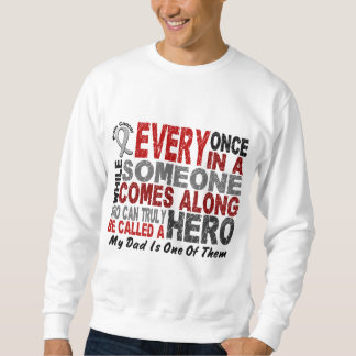 HERO COMES ALONG 1 Dad BRAIN CANCER T-Shirts
