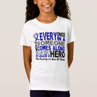 HERO COMES ALONG 1 Daddy COLON CANCER T-Shirts