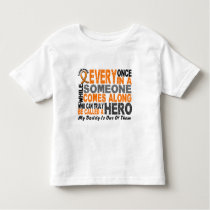 HERO COMES ALONG 1 Daddy LEUKEMIA T-Shirts