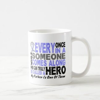 HERO COMES ALONG 1 Father PROSTATE CANCER Coffee Mug