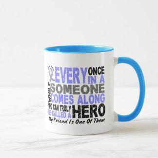 HERO COMES ALONG 1 Friend PROSTATE CANCER Mug