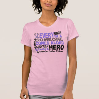 HERO COMES ALONG 1 Grandfather PROSTATE CANCER Tshirts