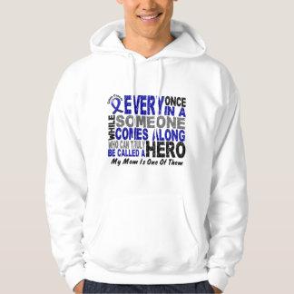 HERO COMES ALONG 1 Mom COLON CANCER T-Shirts