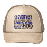 HERO COMES ALONG 1 Mom COLON CANCER T-Shirts Hats