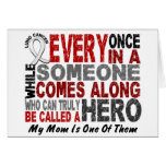 Hero Comes Along 1 Mom Lung Cancer Cards