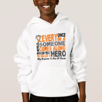 HERO COMES ALONG 1 Nephew LEUKEMIA T-Shirts