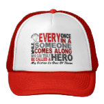 Hero Comes Along 1 Sister Lung Cancer Mesh Hat