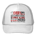 Hero Comes Along 1 Sister Lung Cancer Mesh Hats