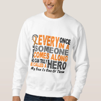 HERO COMES ALONG 1 Son LEUKEMIA T-Shirts