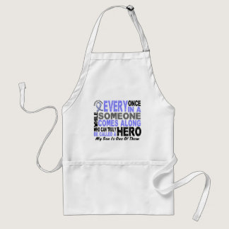 HERO COMES ALONG 1 Son PROSTATE CANCER Adult Apron