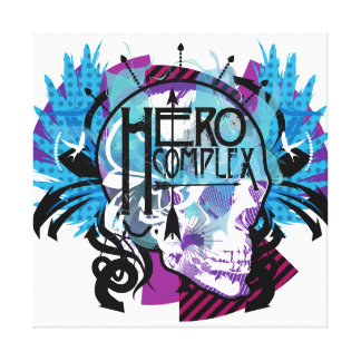 Hero Complex Wrapped Canvas Canvas Print