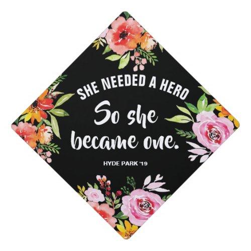 Hero Custom Graduation Cap Topper