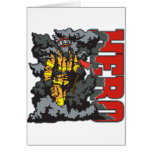 HERO Firefighter Greeting Card