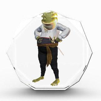 Hero Frog Acrylic Award