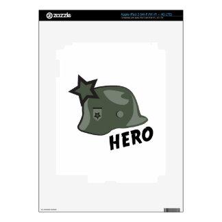 Hero Helmet Decals For iPad 3