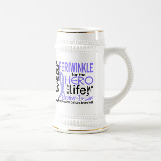 Hero In My Life 2 Brother-In-Law Esophageal Cancer Beer Stein