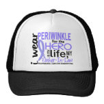 Hero In My Life 2 Father-In-Law Esophageal Cancer Trucker Hat