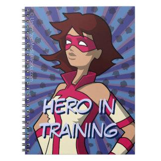 Hero in Training Notebook