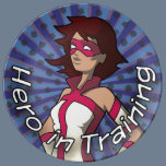 Hero in Training Porcelain Plate