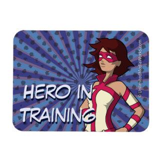 Hero in Training Rectangular Photo Magnet