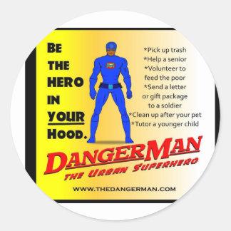 Hero in Your Hood Sticker