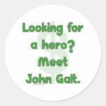 Hero John Galt Sticker