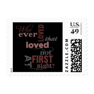 Hero & Leander Love Quote Stamps