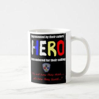 """HERO Mug, """"It's not how they died....."""" Coffee Mug"""
