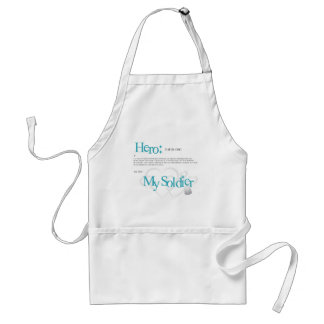 Hero: My Soldier Adult Apron