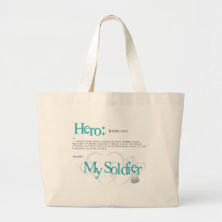 Hero: My Soldier Canvas Bags