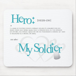 Hero: My Soldier Mouse Pad