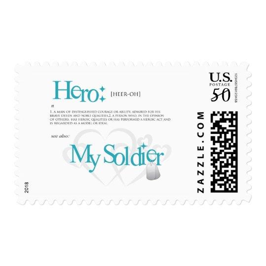 Hero: My Soldier Postage