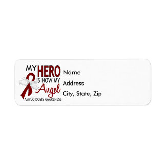 Hero Now My Angel Amyloidosis Label