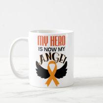 Hero Now My Angel Leukemia Cancer Awareness Mug