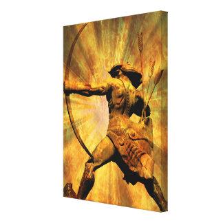 Hero of Armenia Canvas Print