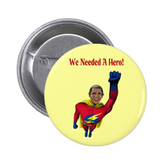 Hero Pinback Button