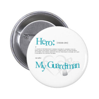 Hero Pinback Button