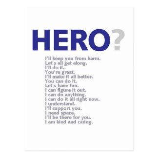 Hero? Postcards