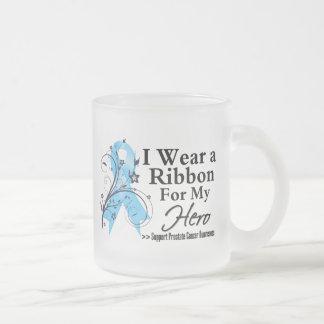Hero Prostate Cancer Ribbon Coffee Mugs