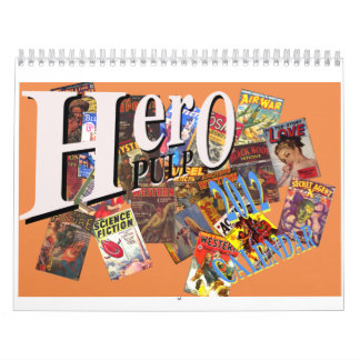 Hero Pulp Calendar 2012