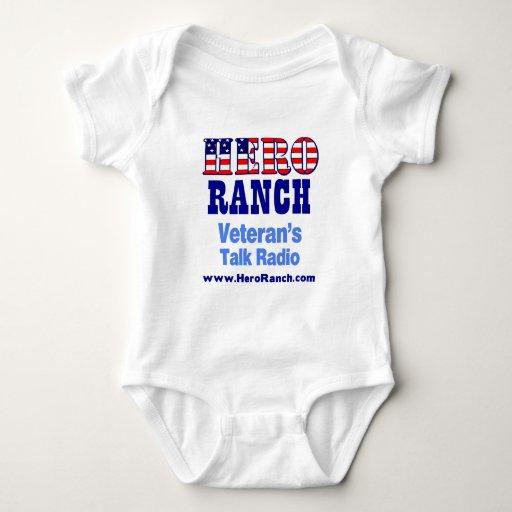 Hero Ranch Veteran's Talk Radio! Baby Bodysuit