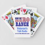 Hero Ranch Veteran's Talk Radio! Bicycle Card Deck